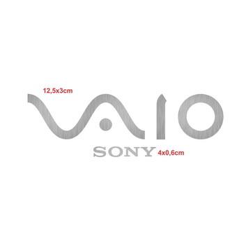 Adesivos Sony Vaio Vinil Aço Escovado
