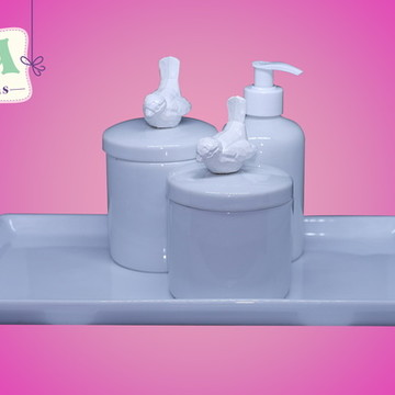 Kit higiene passarinhos