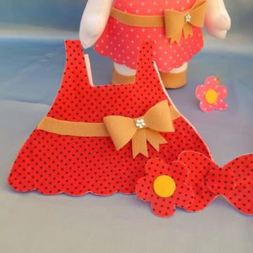 Roupinha Extra - Hello Kitty - em Feltro