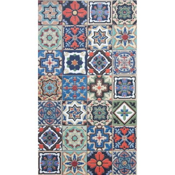 Papel de Parede Azulejo Cozinha Lavável