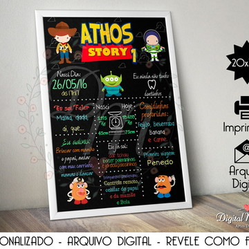 Chalkboard Digital - Toy Story
