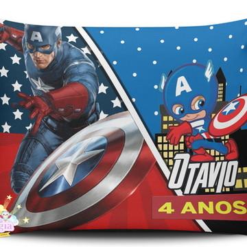 Almofada Personalizada Capitao América