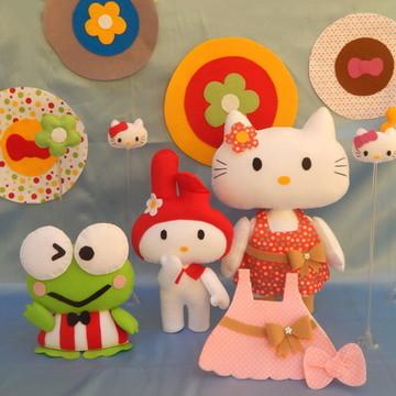 Kit Hello Kitty em Feltro