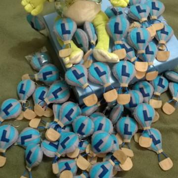 Lembrancinhas chaveiro Balãozinho personalizado