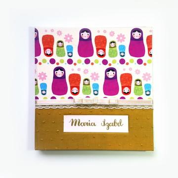 Livro do Bebe Personalizado