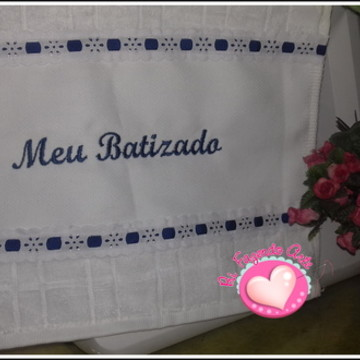 Toalha Personalizada - Batizado