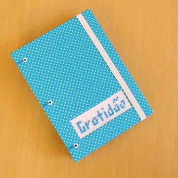 Caderno A6 'Gratidão'