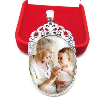 Medalha Buque cor Prata pronta entrega