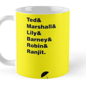 Caneca How I Met Your Mother 19