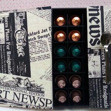 Porta capsulas Nespresso - Jornal