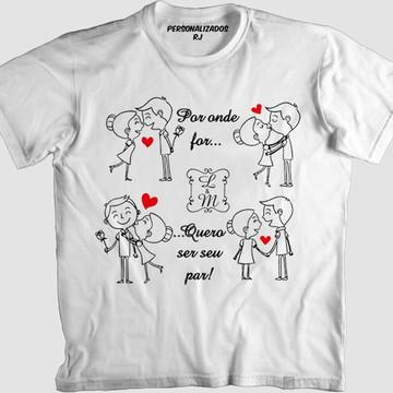 5f30ba89185f4 Camisas Personalizadas Namorados