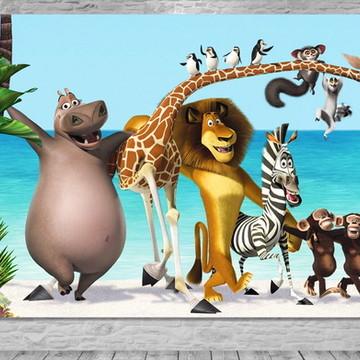 Painel Madagascar - Frete Grátis