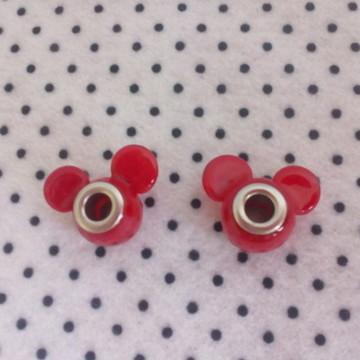 Berloque orelha Mickey/ Minnie