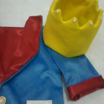 casaco e coroa pequeno principe