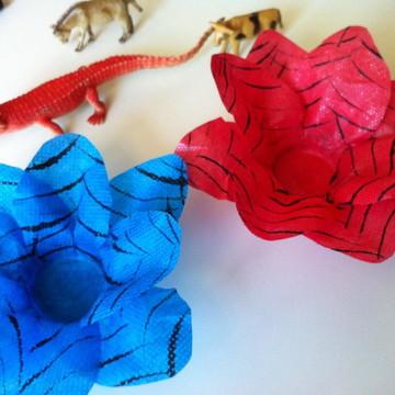 Formas para doces em tecido Homem aranha