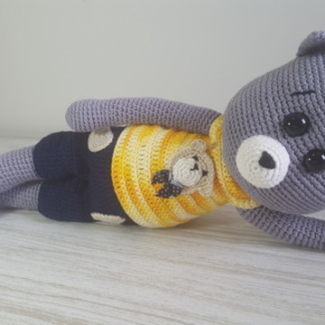 Gato Tobby em Croche - Amigurumi