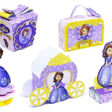 Kit Personalizados Princesa Sofia