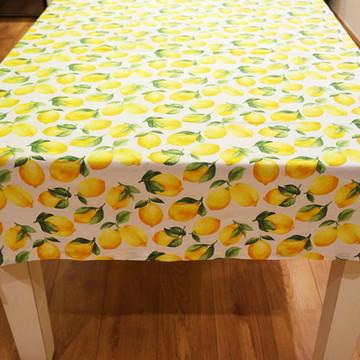 Toalha de mesa de limão siciliano