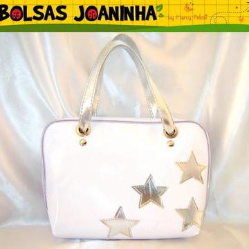 Bolsa Estrelas Prateadas