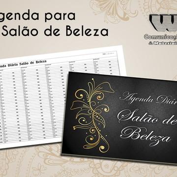 Agenda Salão de Beleza 5 Profissionais