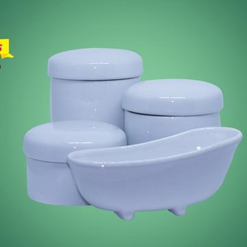 Kit Higiene 03 peças com banheira