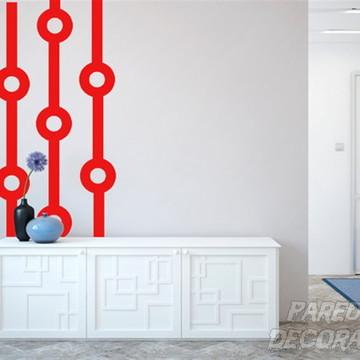 Adesivo de parede arte moderna