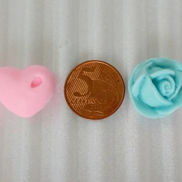 Sabonete Mini Coração ou Mini Florzinha
