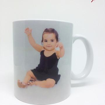 Caneca Personalizada com foto bebê