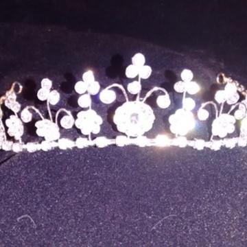 Coroa Peq. Para Noiva, Debutante ou Dama