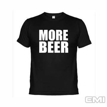 0cb2fc258 Camisetas Engraçadas More Beer