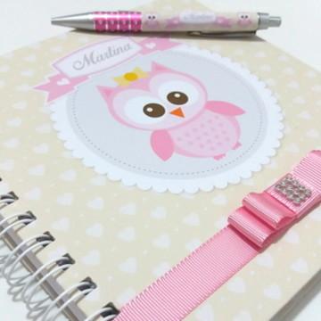 Caderno de Mensagens - Chá de Bebê