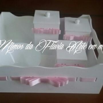 Kit Higiene Bebe Menina