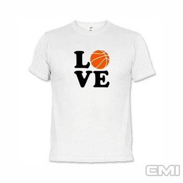 Camisetas Esportes Eu Amo Basquete