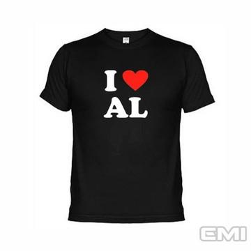Camisetas Eu Amo Al Alagoas