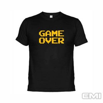Camisetas Games Game Over