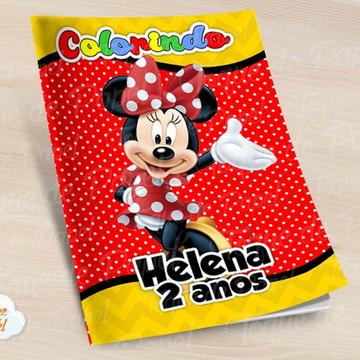 Revista colorir Minnie
