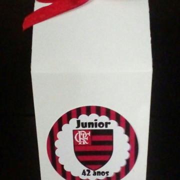 Caixa Milk Brasão Flamengo