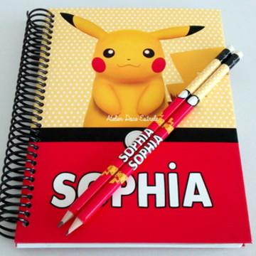 Caderno Personalizado do Pokemon