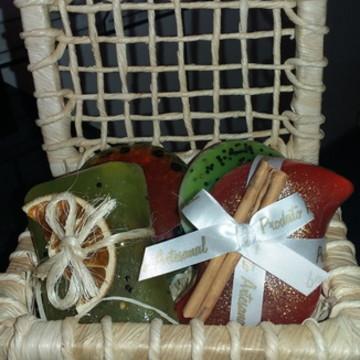 Cesta Sabonete Frutas