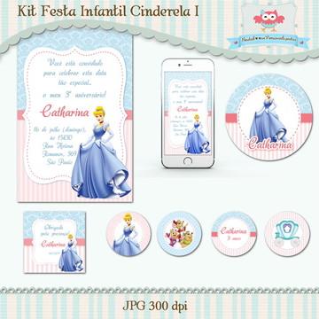 Kit Festa Infantil Cinderela I