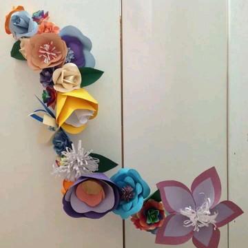 Flores para vitrines