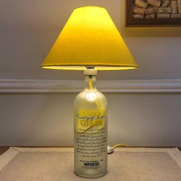 Abajur de garrafa Vodka Citron