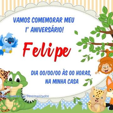 Convite Floresta - Selva