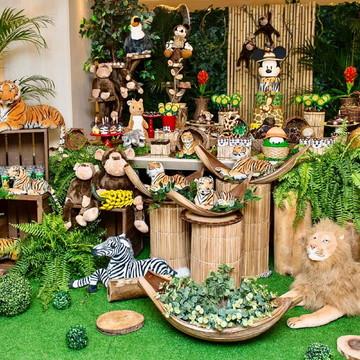 Decoração Festa Mickey Safari - Locação