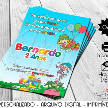 Convite Digital Patati Patata