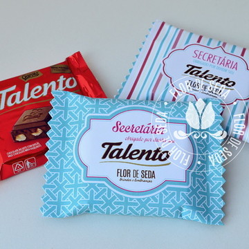 Dia da Secretária Chocolate Talento 25g