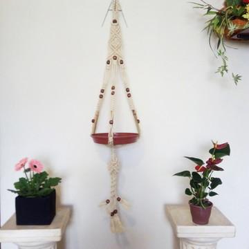 Hanger Plants de Sisal em Festone e Macramê