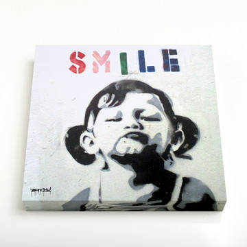Quadro 16 Smile Girl