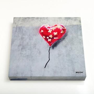 Quadro 16 Broken Heart Balloon