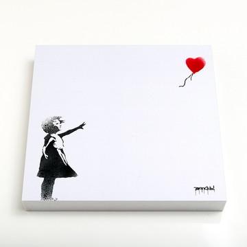 Quadro 16 Balloon Girl
